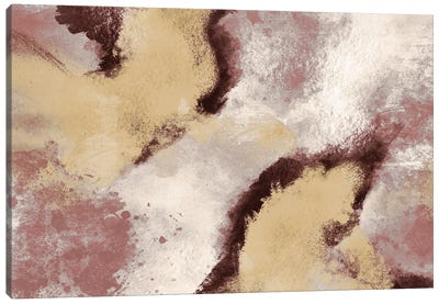 Unrefined Burst I Canvas Art Print