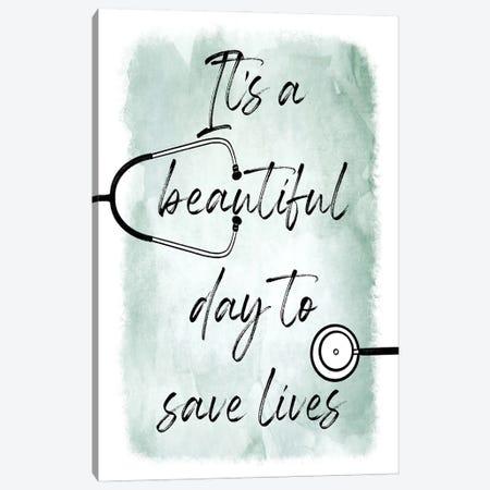 Saving Lives I Canvas Print #PRM145} by Marcus Prime Art Print