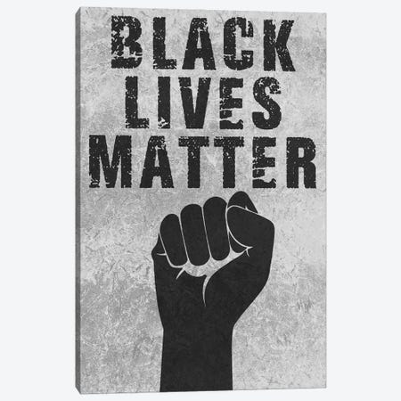 Black Lives Matter Canvas Print #PRM150} by Marcus Prime Art Print