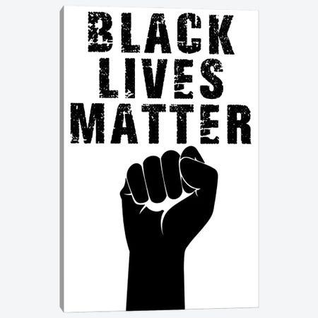 Black Lives Matter II Canvas Print #PRM151} by Marcus Prime Canvas Print