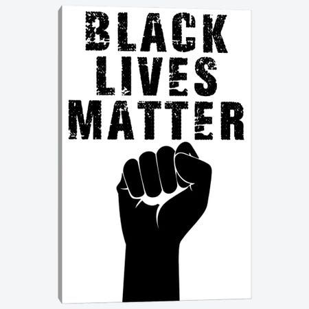 Black Lives Matter II Canvas Print #PRM151} by Marcus Prime Canvas Print