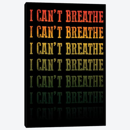 Can't Breathe I Canvas Print #PRM156} by Marcus Prime Canvas Art