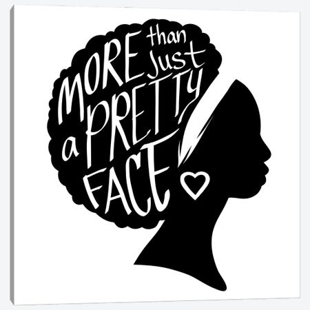 Pretty Face I Canvas Print #PRM163} by Marcus Prime Canvas Art