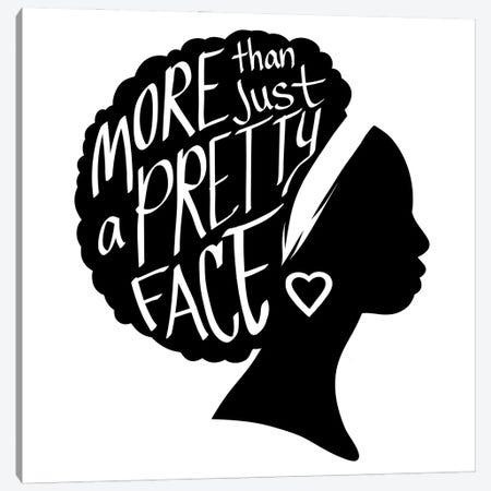 Pretty Face I Canvas Print #PRM163} by Marcus Prime Canvas Art