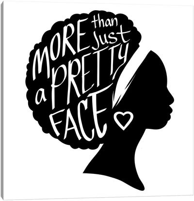 Pretty Face I Canvas Art Print