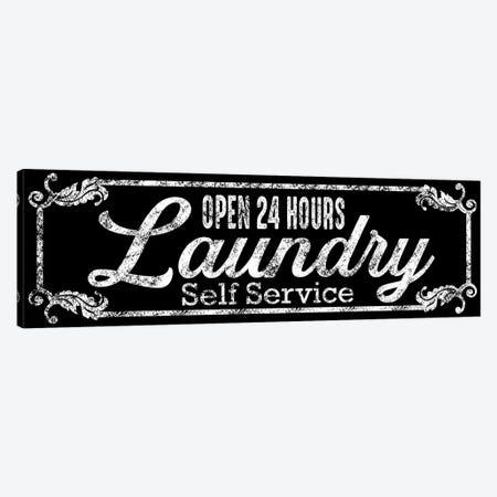Laundry Self Service Canvas Print #PRM167} by Marcus Prime Art Print