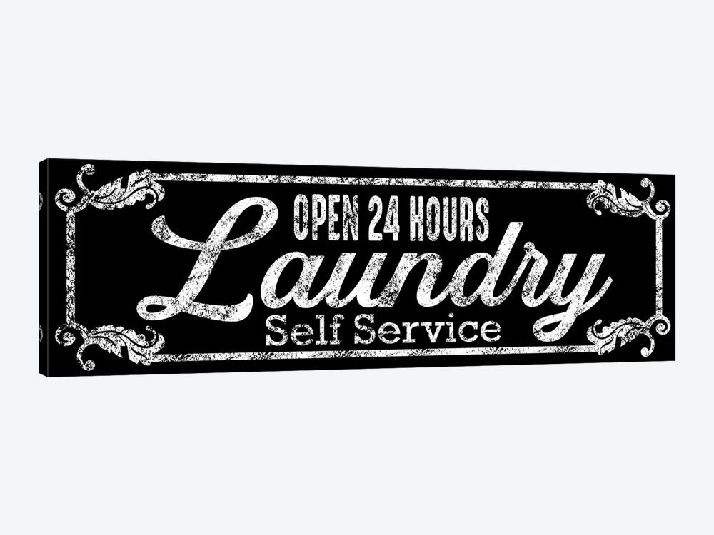 Laundry Self Service by Marcus Prime 1-piece Canvas Art