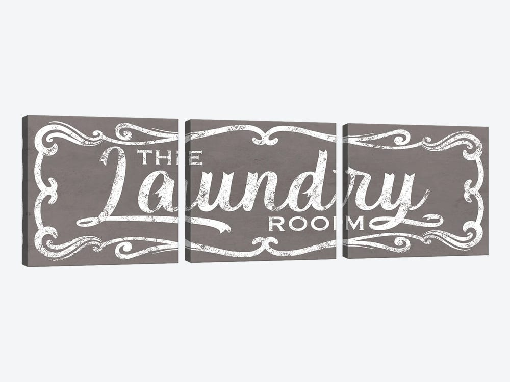 The Laundry Room by Marcus Prime 3-piece Canvas Print
