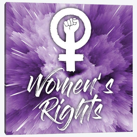Women's Rights Canvas Print #PRM171} by Marcus Prime Art Print
