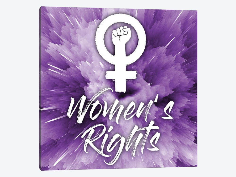 Women's Rights by Marcus Prime 1-piece Canvas Print
