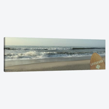 Watchful Lifeguard I Canvas Print #PRM18} by Marcus Prime Canvas Print