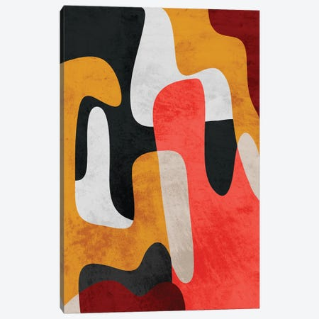 Mixed Theories II Canvas Print #PRM195} by Marcus Prime Canvas Wall Art