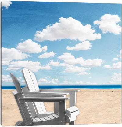 Beach Relaxing I Canvas Art Print