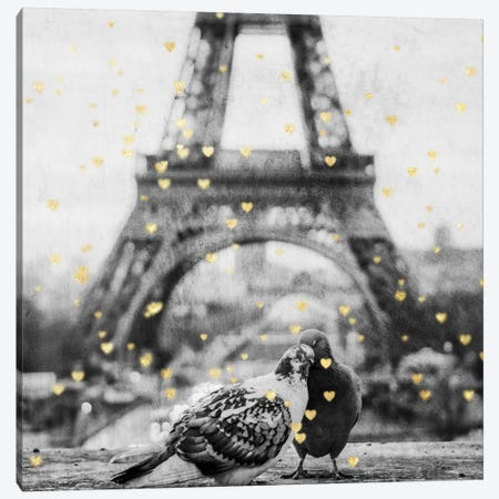 Paris Love I Canvas Print #PRM22} by Marcus Prime Canvas Artwork