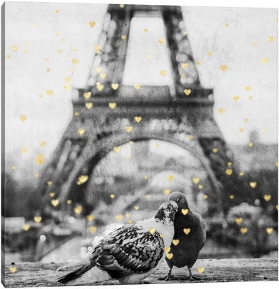 Paris Love I Canvas Art Print