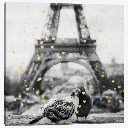 Paris Love I Canvas Print #PRM22} by Marcus Prime Canvas Artwork