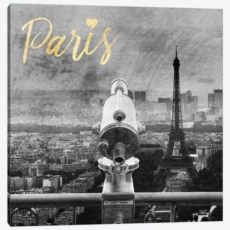Paris Love II Canvas Print #PRM23} by Marcus Prime Canvas Artwork