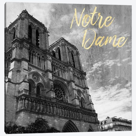 Notre Dame Canvas Print #PRM25} by Marcus Prime Canvas Print