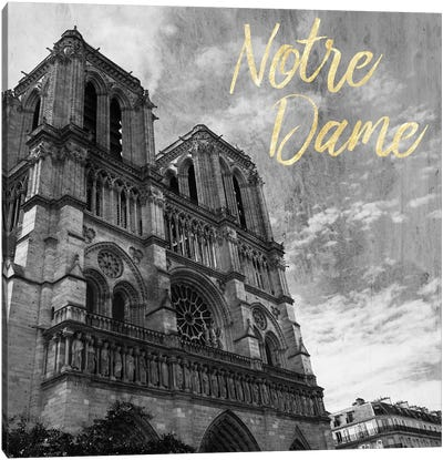 Notre Dame Canvas Art Print