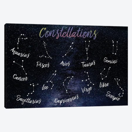 Emotional Constellations Canvas Print #PRM27} by Marcus Prime Canvas Art Print