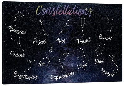 Emotional Constellations Canvas Art Print