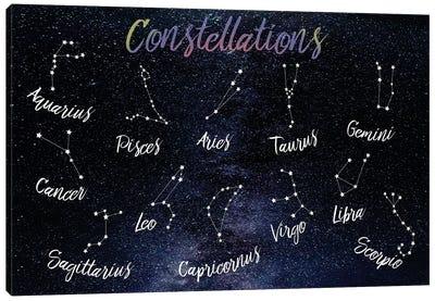 Emotional Constellations Canvas Art Print