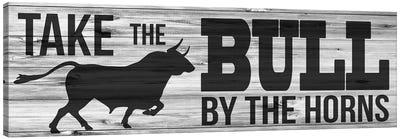 Bull Horns Canvas Art Print