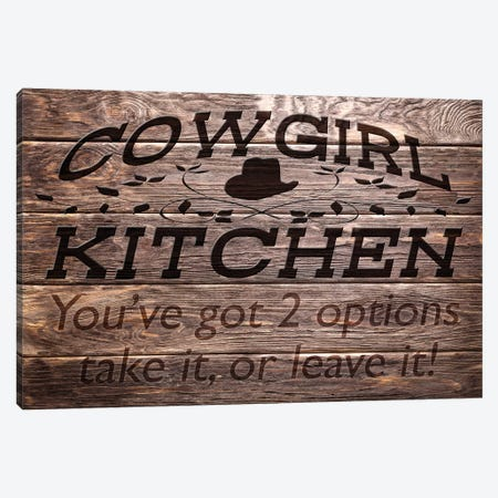 Cowgirl Kitchen Canvas Print #PRM32} by Marcus Prime Canvas Print