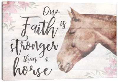 Strong Faith I Canvas Art Print
