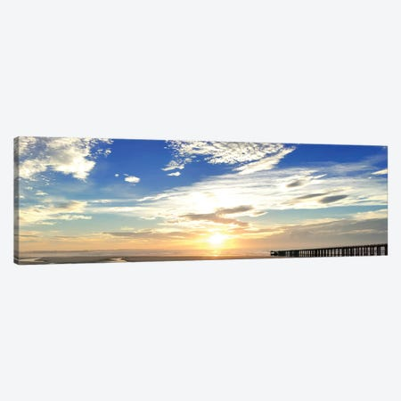 Beach Stroll Canvas Print #PRM36} by Marcus Prime Canvas Wall Art