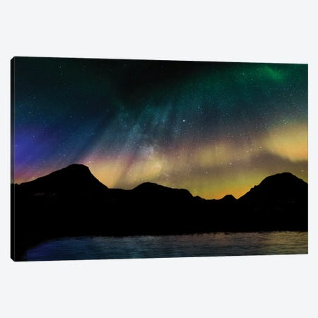 Borealis Dreams I Canvas Print #PRM37} by Marcus Prime Canvas Artwork
