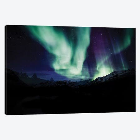 Borealis Dreams VI Canvas Print #PRM38} by Marcus Prime Art Print