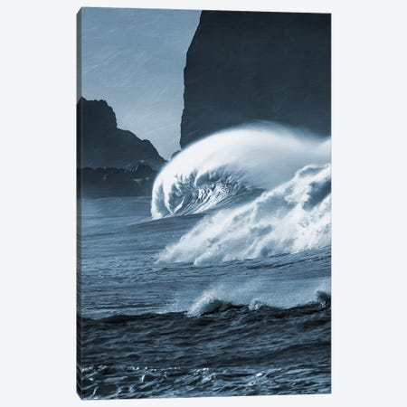 Blooming Surf I Canvas Print #PRM3} by Marcus Prime Canvas Print