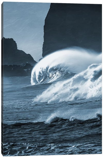 Blooming Surf I Canvas Art Print