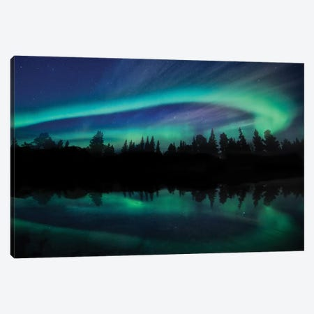 Borealis Dreams VIII Canvas Print #PRM40} by Marcus Prime Canvas Artwork