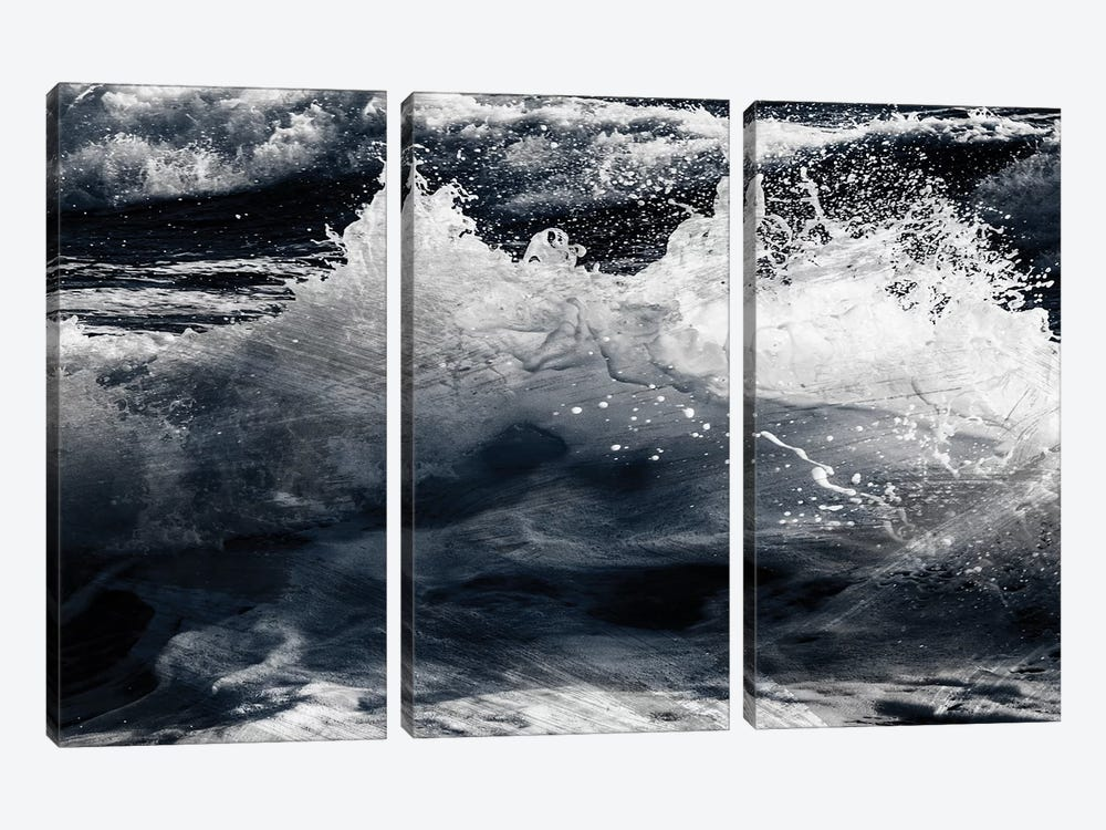 Broken Tide I by Marcus Prime 3-piece Canvas Wall Art