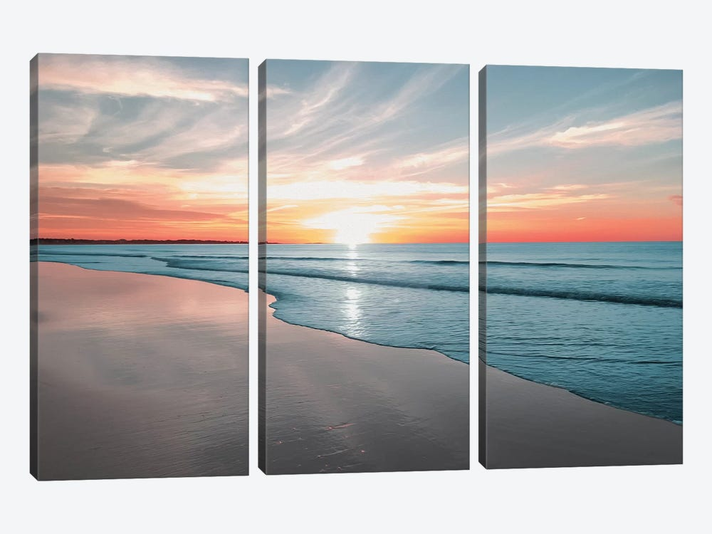 Relaxing Morning by Marcus Prime 3-piece Canvas Art Print