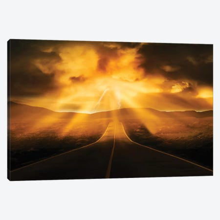 Road Less Traveled Canvas Print #PRM52} by Marcus Prime Art Print