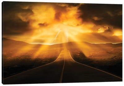 Road Less Traveled Canvas Art Print