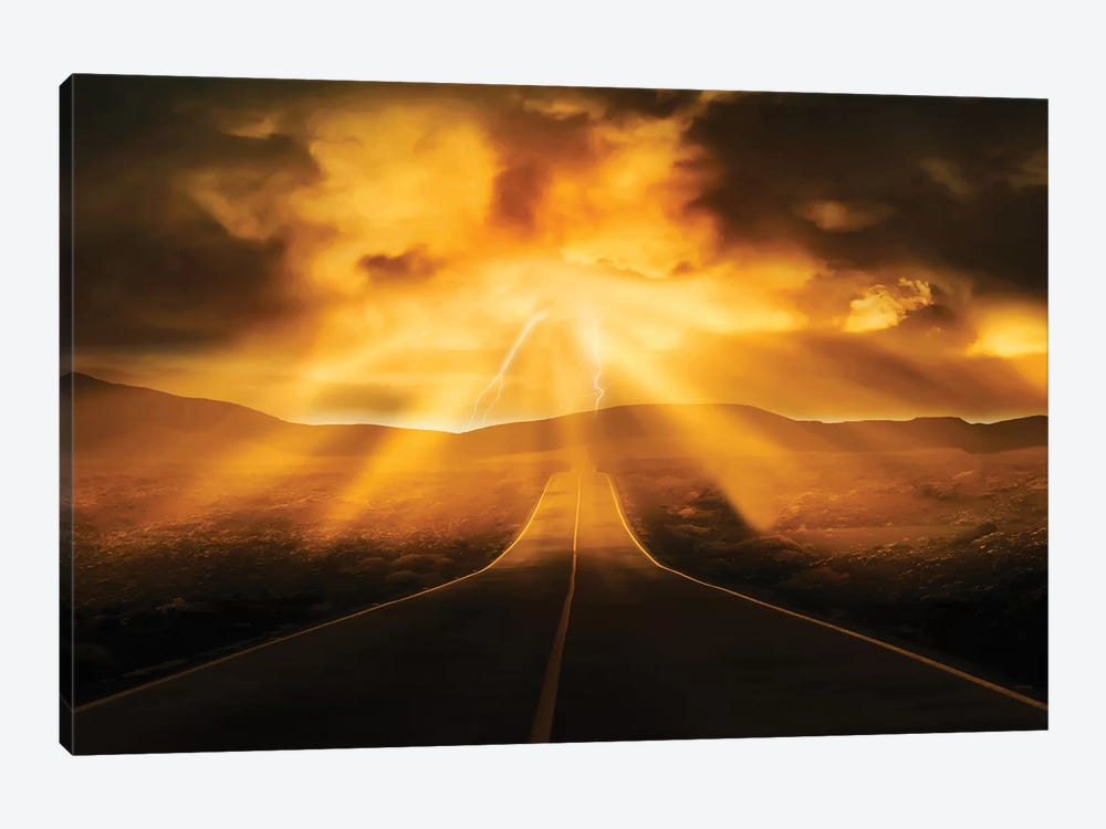 Road Less Traveled by Marcus Prime 1-piece Canvas Wall Art