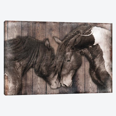 Loving Snuggles I Canvas Print #PRM62} by Marcus Prime Canvas Wall Art