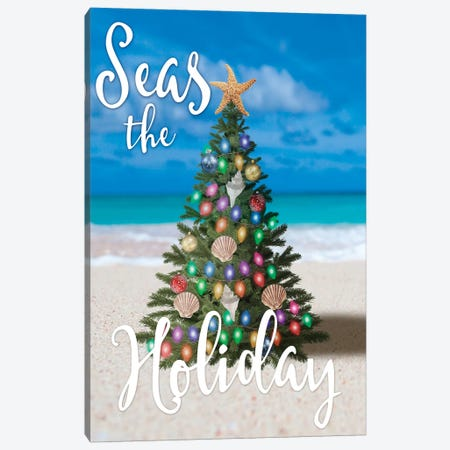 Salty Holiday I Canvas Print #PRM65} by Marcus Prime Canvas Print