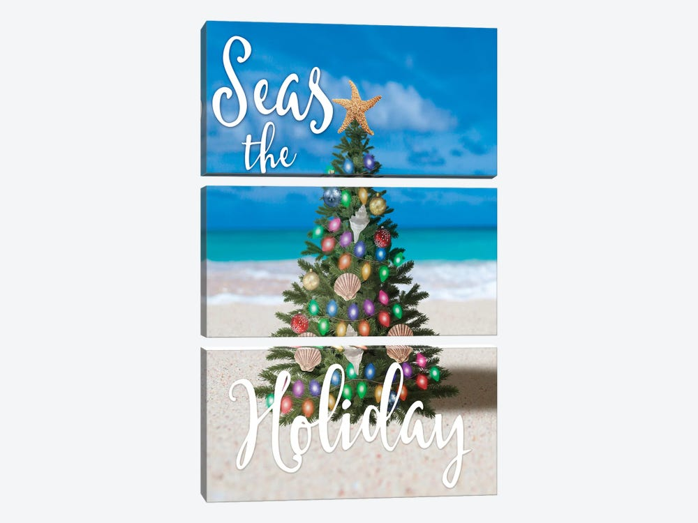 Salty Holiday I by Marcus Prime 3-piece Canvas Art