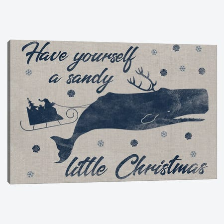 Sandy Christmas I Canvas Print #PRM66} by Marcus Prime Art Print