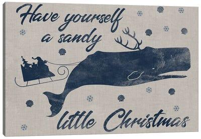 Sandy Christmas I Canvas Art Print