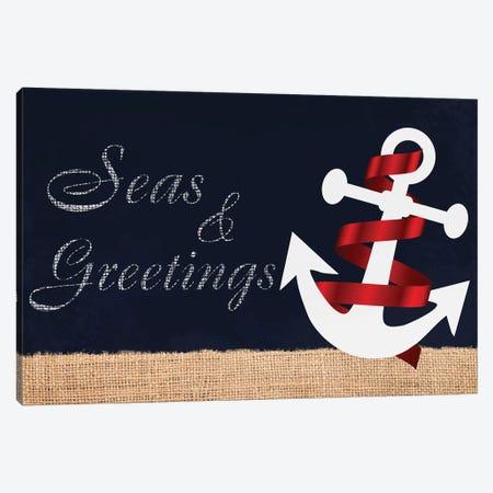 Seas N Greetings I Canvas Print #PRM67} by Marcus Prime Canvas Print