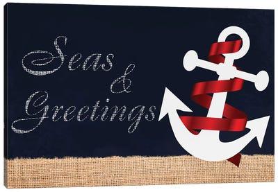 Seas N Greetings I Canvas Art Print