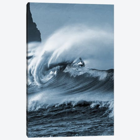Blooming Surf II Canvas Print #PRM69} by Marcus Prime Canvas Artwork