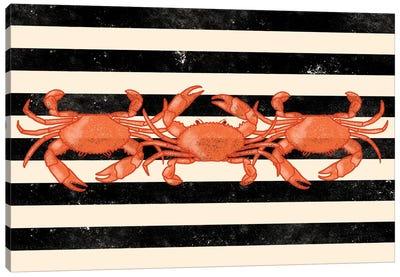 Crab Dance Canvas Art Print