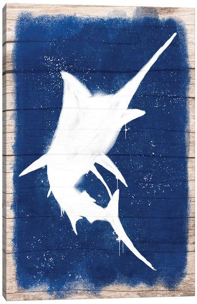 Swordfish Blast I Canvas Art Print